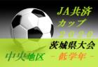 【大会中止】2020年度 JA共済CUP第47回 茨城県学年別少年サッカー大会茨城県大会県西地区大会<低学年の部>