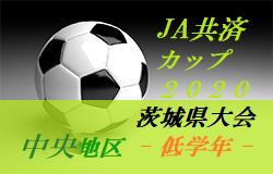 【大会中止】2020年度 JA共済CUP第47回 茨城県学年別少年サッカー大会茨城県大会中央地区大会<低学年の部>