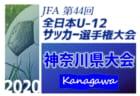 速報!2020年度 全日本U-12サッカー選手権 神奈川県予選(中央大会)バディーSCが8年ぶり3回目の優勝!横浜F・マリノスとともに2年連続の全国大会へ!!