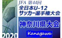 2020年度 JFA第44回全日本U-12サッカー選手権大会 神奈川県予選(中央大会) 川崎・横浜・横須賀・県央・かもめの代表追記!! 大会要項&日程会情報掲載!地区予選情報まとめました!11/8開幕!
