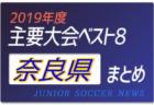 2019年度 和歌山県 主要大会(1種~4種)輝いたチームは!?上位チームまとめ