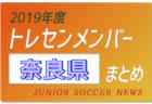 2019年度 静岡県 トレセンメンバー
