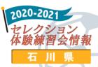 2020-2021 【青森県】セレクション・体験練習会 募集情報まとめ