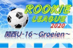 関西U-16~Groeien~2020(グロイエン・U-16ルーキーリーグ)GⅠ優勝は東山高校、GⅡ優勝は近大附属!清風が来季GⅡ昇格決定!