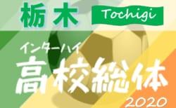 2020年度 全国高校総体(インターハイ)栃木県予選会 5/12組合せ抽選!5/23開幕!
