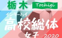 2020年度 栃木県高校総体女子 兼 関東高校女子サッカー大会県予選 4/25開幕!組合せ情報をお待ちしています!