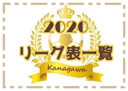 2020年度 神奈川県リーグ戦表一覧