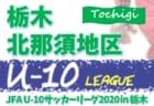 2020年度 第14回埼玉県第4種リーグ南部地区 最終結果掲載!