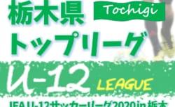JFA U-12サッカーリーグ2020 栃木県少年サッカートップリーグ 後期 9/27結果更新!結果入力ありがとうございます!続報をお待ちしています!