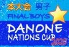 【大会中止】ダノンネーションズカップ2020 in JAPAN 本大会 男子 (東京都開催)