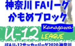 【7/12まで延期(中止)】JFA U-12サッカーリーグ 2020 神奈川《FAリーグ》かもめブロック 前期 Bブロック組合せ掲載!他ブロック組合せや日程情報をお待ちしています!