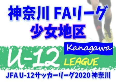 【4/30まで延期(中止)】JFA U-12サッカーリーグ 2020 神奈川《FAリーグ》少女地区 ステージや組合せ、日程情報をお待ちしています!