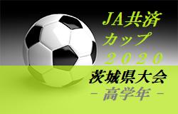 【大会中止】2020年度 JA共済CUP第47回 茨城県学年別少年サッカー大会茨城県大会<高学年の部>