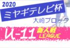 【大会方式変更】2020年度 ミヤギテレビ杯新人大会 (宮城県)  太白ブロック予選
