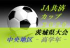【大会中止】2020年度 JA共済CUP第47回 茨城県学年別少年サッカー大会茨城県大会県西地区大会<高学年の部>