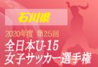 鹿嶋サッカーフェスティバル2020 U-18(ユースの部)  優勝は鹿島アントラーズユース!