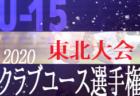 【大会中止】2020年度 第35回日本クラブユースU-15サッカー選手権大会東北大会 7/4~開催予定