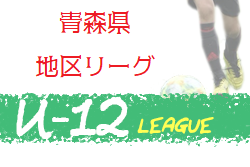 2020年度 JFA U-12サッカーリーグ弘前地区(青森県)6月開催予定! 大会情報お待ちしております。