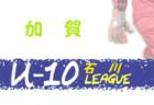 2019年度 第43回和歌山県少年サッカーリーグ決勝大会 和歌山市予選(南北リーグ)Aリーグ優勝はVIVO Bリーグ優勝は西脇