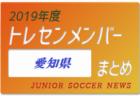 2019年度 岐阜県 トレセンメンバー