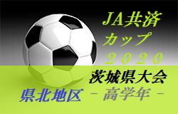 【大会中止】2020年度 JA共済CUP第47回 茨城県学年別少年サッカー大会茨城県大会県北地区大会<高学年の部>