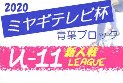 【大会方式変更】2020年度 ミヤギテレビ杯新人大会 (宮城県)  青葉ブロック予選