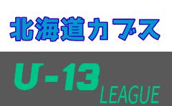 2020年度第12回北海道カブスリーグ U-13 組合せ掲載!8/29開幕!