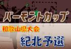 【大会中止】2020年度 JFA バーモントカップ 第30回全日本U-12 フットサル選手権大会 和歌山県大会 紀南予選