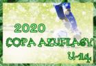 第5回 2020.COPA AZUFLAGY(コパ・アズフラージ、通称AFG) U-14 関西 8/9.10結果速報!情報お待ちしています。