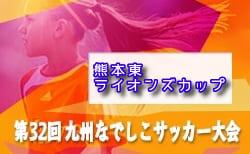 【中止】2020年度 熊本東ライオンズカップ 九州なでしこサッカー大会熊本県予選 4/4,5開催