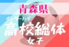 【大会中止】2020年 第73回青森県高校総合体育大会サッカー競技(男子)