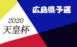 【大会中止】2020年度全広島サッカー選手権大会 兼 天皇杯 広島県代表決定戦  代表はSRC広島