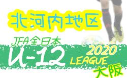 2020年度 U-12リーグ第44回全日本少年サッカー大会 北河内地区予選 7/4開幕!組合せ掲載!