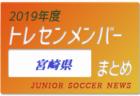 2019年度 福岡県 トレセンメンバー