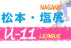 【開催検討中 5月末までは中止】2020年度 松本・塩尻U-12リーグ(長野)情報提供お待ちしております