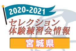 2020-2021 【宮城県】セレクション・体験練習会 募集情報まとめ