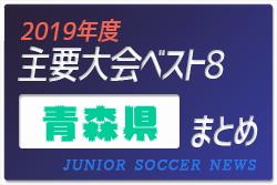 2019年度 青森県 主要大会(1種~4種) 輝いたチームは!?上位チームまとめ