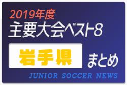 2019年度 岩手県 主要大会(1種~4種) 輝いたチームは!?上位チームまとめ