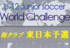 2020年度 U-12ジュニアサッカーワールドチャレンジ2020 街クラブ予選 九州予選(大分開催) 優勝は油山カメリア!