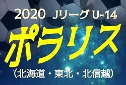 2020年度 Jリーグ U-14 ポラリスリーグ【北海道・東北・北信越】12/12結果掲載!日程情報お待ちしています!