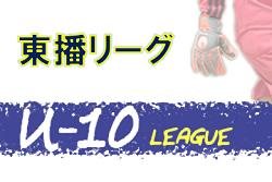 2020年度 東播リーグU-10 (兵庫県) 組合せ掲載! 1/11開幕