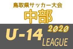 U-14鳥取県サッカー大会2020 中部リーグ(鳥取)全試合結果掲載!