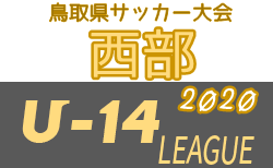 U-14鳥取県サッカー大会2020 西部リーグ 優勝はセリオ・トレイス・福米!