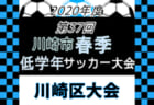 2020年度 第49回埼玉県サッカー少年団大会東部中地区予選 11/3情報お待ちしています