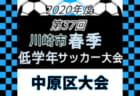 2020年度 NFAサッカーリーグ U-12 後期 3部リーグ (奈良県) 最終結果掲載!
