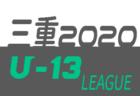 高円宮杯 JFA U-18サッカーリーグ2020 三重 残り6試合の結果情報をお待ちしています!