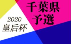 2020年度 千葉県女子サッカー選手権大会(皇后杯) 7/12結果速報!
