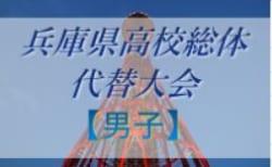【高校総体代替大会】2020年度 兵庫県高校総体サッカー競技<男子の部>代替大会 7/11,12結果速報 1試合から情報提供お待ちしています