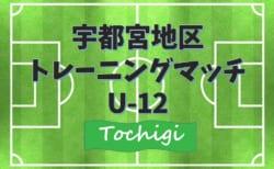 2020年度 宇都宮地区U12サッカートレーニングマッチ (栃木県)  7/11結果一部更新!次は最終節7/18!