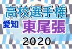 2020年度 第99回全国高校サッカー選手権 愛知県大会 名古屋地区予選   県大会出場9チーム決定!